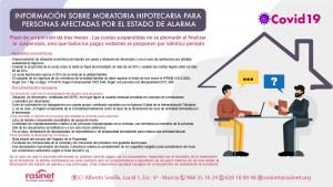 moratoria hipoteca